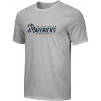 Mountainside Youth Basketball 26: Adult-Size - Nike Combed Cotton Core Crew T-Shirt - Gray